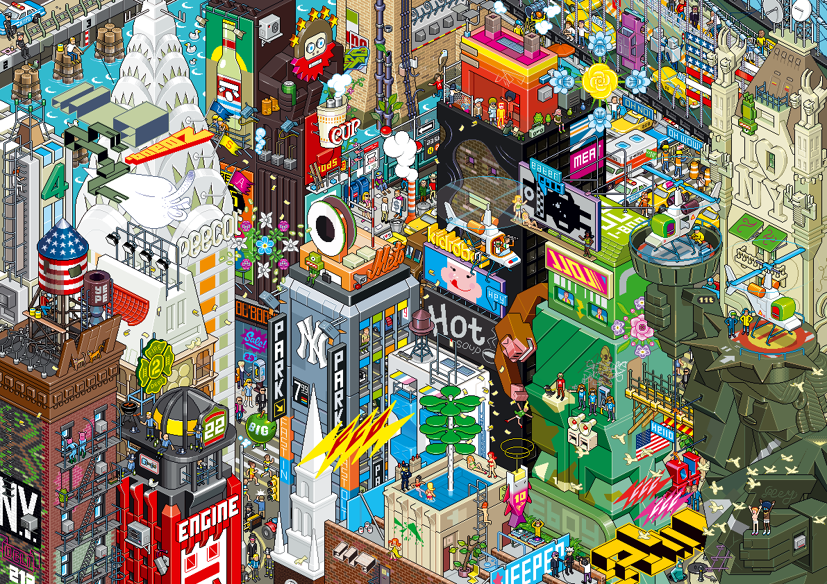 Eboy-ville-pixel-art-New-york